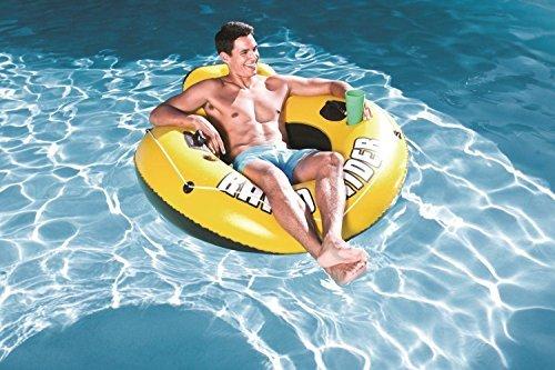 Bestway Rapid Rider I 53 Inflatable Floating Pool Raft Tube 2-Pack