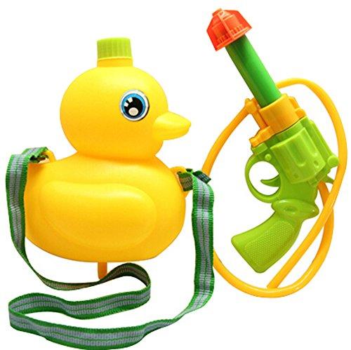 Childrens Toys Small Backpack Water Gun Far Shot Far Range Duck Random Color