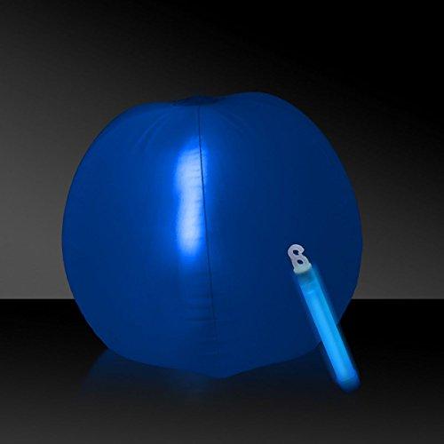 Glow in the Dark Beach Ball - 12 Blue 1 Each