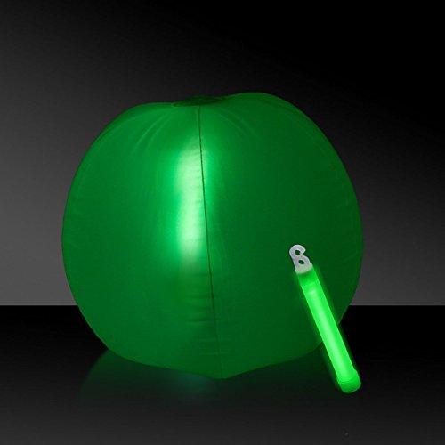 Glow in the Dark Beach Ball - 12 Green 1 Each