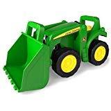 John Deere Big Scoop Tractor Toy with Loader 15-Inch