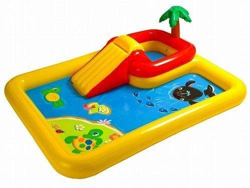 Baby Inflatable Pool Swimming Kids Toddler Fun Kiddie Play Water Outdoor Infant