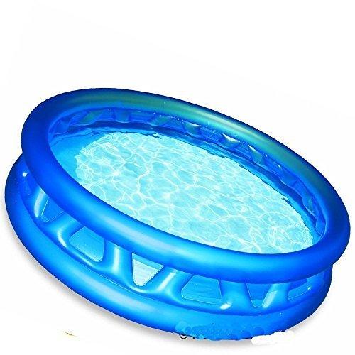 Intex Soft Side Inflatable Kids Swimming Pool - 74 x 18 Blue Kiddie Pool