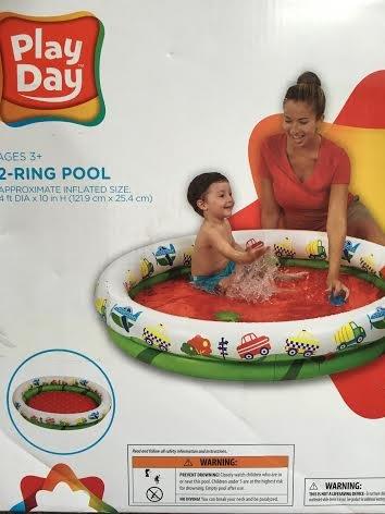 Play Day Inflatable Kiddie Pool