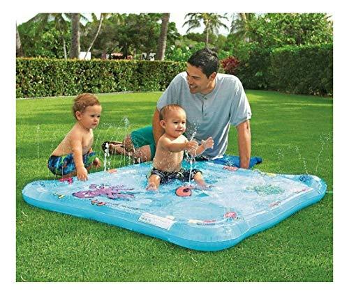 Swimming Pool Baby Water Spray Mat Wading Pool Kiddie Squirt Pool Toddler