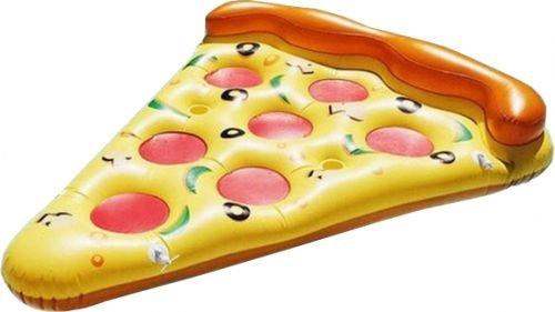 LA VAGUE Pizza Pool Float YellowPink Single