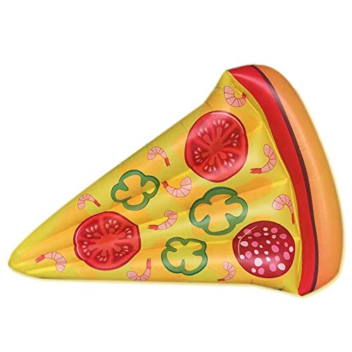 Pool Float Giant Inflatable Pizza Pool Float With Rapid Valves Summer Outdoor Swimming Pool Party Lounge Raft Decorations Toys For Adults Kids1 Pack For Water Activities pool floats for adults