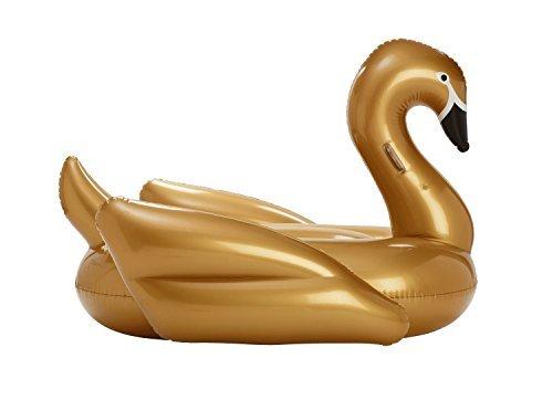 FUNBOY Giant Gold Swan Float