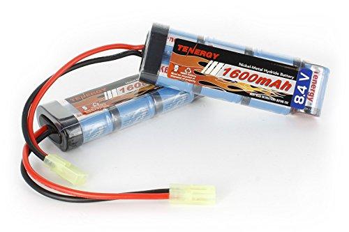 Combo 2 pcs Tenergy 84V 1600mAh NiMH Flat Battery Packs