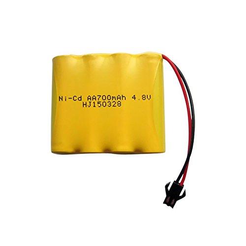 QsmilyRechargeable 48V 700mAh AA Ni-Cd Battery Packs SM Plug for Toys Cameras Game Players Power Bank