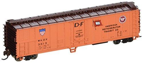 Bachmann Industries ACF 50 Steel Reefer American Refrigerator Transit Company Car N Scale