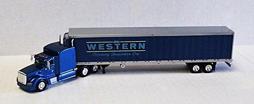 WESTERN DISTRIBUTING PETERBILT 386 REEFER TONKIN 187 Diecast Truck HO Scale