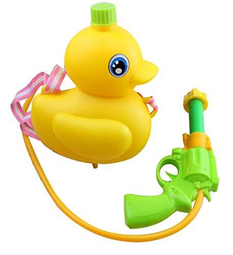 Rubber Duck Backpack Style Water Gun Hyper Water Pistol Squirt Gun Air Pressure Type Gun1