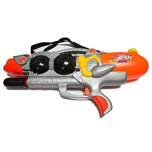 Sunnysplash Super Water Gun Toy GreyBlackOrange