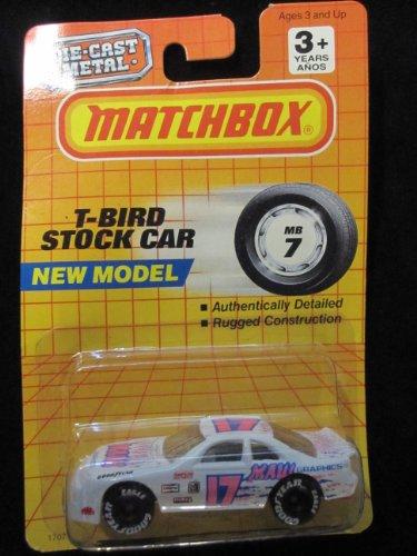 T-Bird Stock Car Matchbox Collectible Car 7