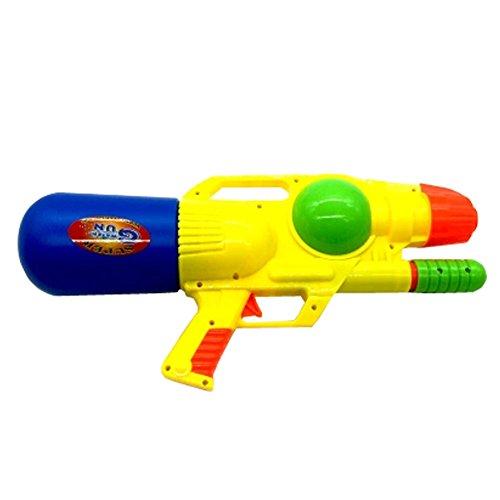 600ML Plastic Water Gun Water Pistol Squirt Games Beach Toys  Yellow