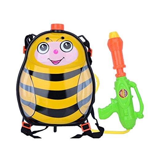 Childrens Backpack Plastic Water Gun Water Pistol Squirt Games Bee