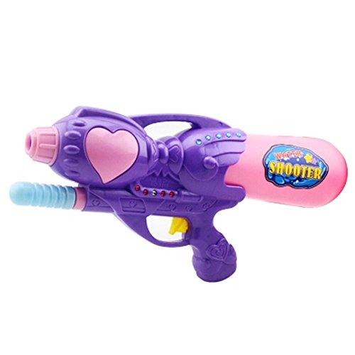 Girls Beach Toys Plastic Water Gun Water Pistol Squirt Games Purple