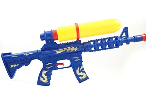 Remeehi Blue Cool Summer Children Air Pressure Plastic Water Gun Long Distance Squirt Party Kids Toy Outdoor