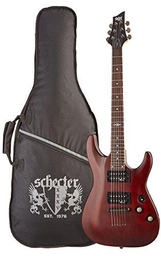 C-1 SGR by Schecter Beginner Electric Guitar -  Walnut Satin Amazon Exclusive
