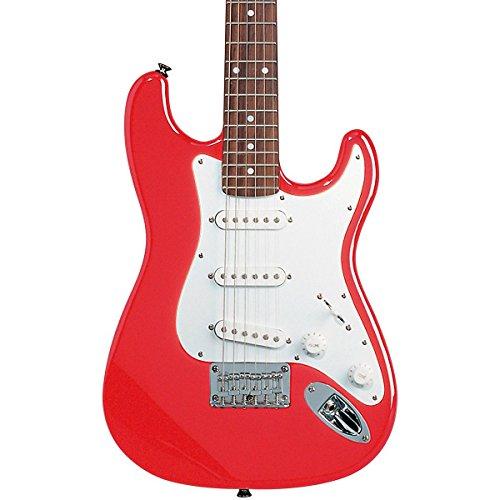 Squier by Fender Mini Strat Beginner Electric Guitar Rosewood Fingerboard - Torino Red