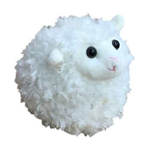 Kelly Toy Soft Fleece Small Fluffy Sheep Stuffed Animal 6 Plush Cream Lamb Pal