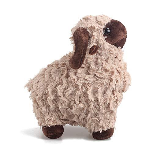 LUCKSTAR Lamb Plush Doll - 10 Creamy Cute Soft Sheep Stuffed Animal Goat Toys - Perfect Chrismas Birthday Gift for Children or Girlfriend