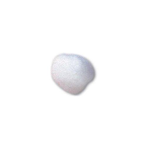 Trimits PP5W  White Pom Poms  Toy Making  50mm  by Impex