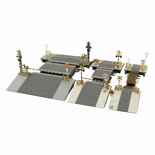 Set MP01-108 Paper Petit crossing Z  miniature scale and 1220