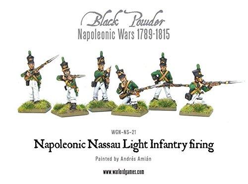 Black Powder Napoleonic Wars Nassau Light Infantry Firing 28mm Warlord Games