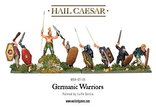 Hail Caesar Germanic Warriors  28mm Warlord games miniatures