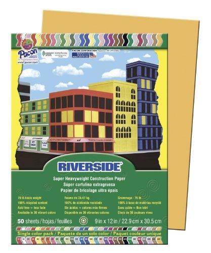 PaconRiversideConstruction Paper Color Butterscotch Model PAC103640