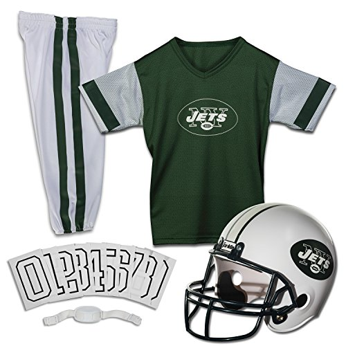 Franklin Sports NFL New York Jets Deluxe Youth Uniform Set Medium
