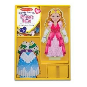 Toy  Game Incredible M D Deluxe 24-Piece Princess Elise Magnetic Dress-Up Set - For Pretend Play