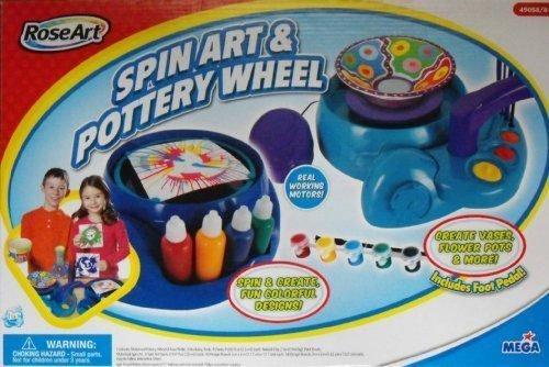 2009 Rose Art Spin Art Pottery Wheel Bonus Pack by Mega Brand Inc