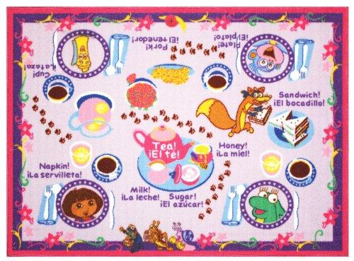 Dora The Explorer Tea Party Play Rug