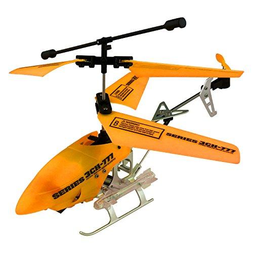 Series 3Ch-777 Tactical Wireless Indoor Helicopter Glow in the Dark Orange