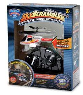 Sky Scrambler Wireless Indoor Helicopter