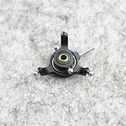 BEESCLOVER for Wltoys XK2K110017 de Metal Plato c¡§aclico ESPA a Wltoys XK K110 K120 V966 V977 RC helic¡§ptero