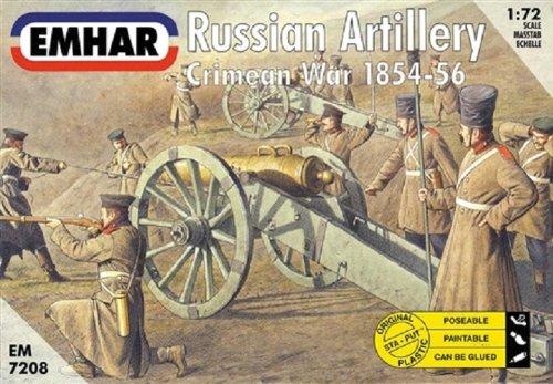 Emhar Models Russian Artillery Crimean War 1854-56 Model Building Kit