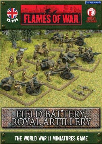 Flames of War Field Battery Royal Artillery