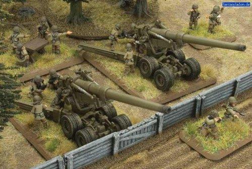 Flames of War M1A1 Long Tom Field Artillery Battery