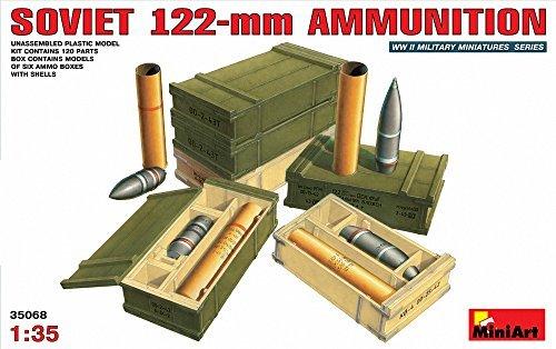 MiniArt 135 Soviet 122mm artillery shells and ammunition box set MA35068
