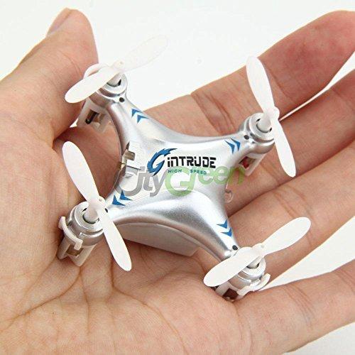 Gintrude H7 Toy 24G 4CH 6-Axis Mini Nano RC Quadcopter Aircraft Drone UFO