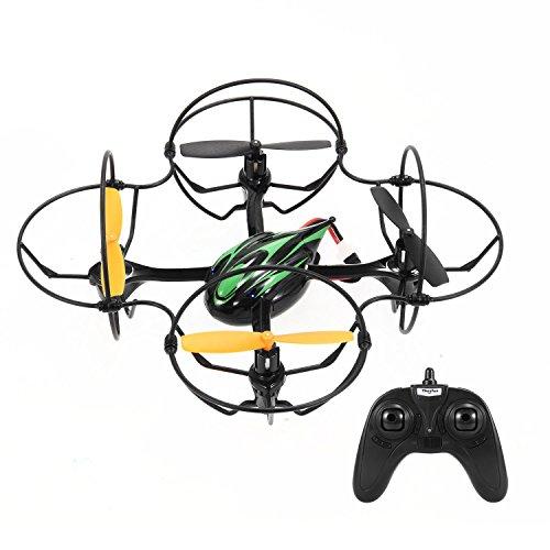 TheeFun TX4 6 Axis 2 Speed 24GHz RC Quadcopter with Protective CircleBlack