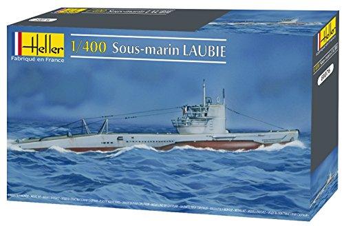 Heller Laubie French Navy Submarine Boat Model Building Kit