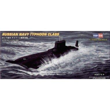 Hobby Boss Russian Typhoon Class Submarine Boat Model Building Kit