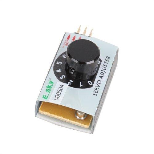 DN MCU Control 000504 EK2-0907 Servo Tester Adjuster for RC Helicopter Honey Bee
