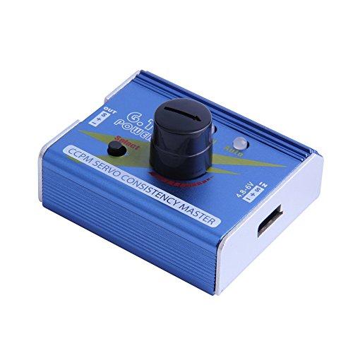 Waterwood GT Power 3CH ESC Servo Tester CCPM Consistency Master Checker Tester