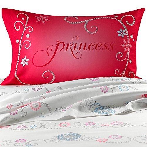 Disney Princess Tiara Full Size Sheets Set